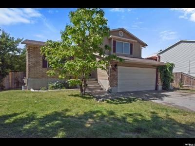 West Jordan Single Family Home For Sale: 4953 W 6400 S