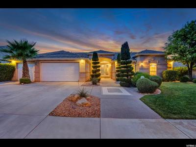 St. George Single Family Home For Sale: 1763 Boulder Mountain Rd