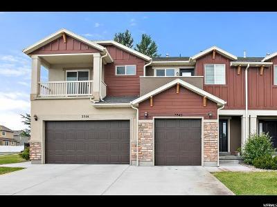 Lehi Townhouse For Sale: 3342 W Prairie Grass Dr N