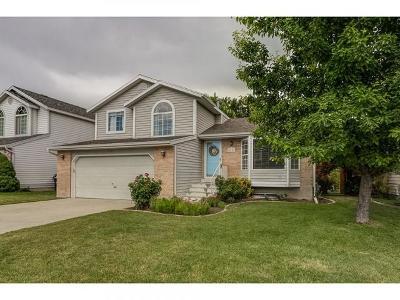 West Jordan Single Family Home For Sale: 6343 S Castleford