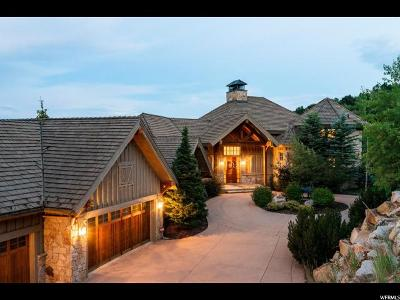 Park City Single Family Home For Sale: 2967 Deer Crest Estates Dr