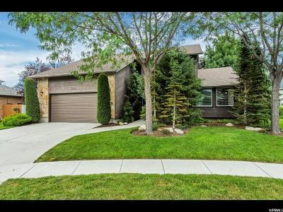 Sandy Single Family Home For Sale: 2195 E Little Cloud Cir