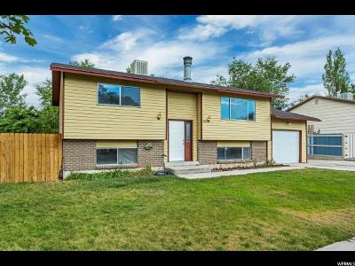 West Valley City Single Family Home For Sale: 4885 W Hellas Dr