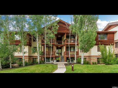 Park City Condo For Sale: 1600 W Pinebrook Blvd N #F-1