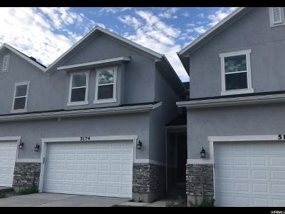 Herriman Townhouse For Sale: 5174 W Shady Park Ln