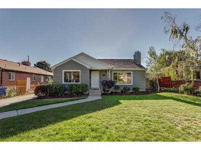 Salt Lake City Single Family Home For Sale: 1632 S 1900 E