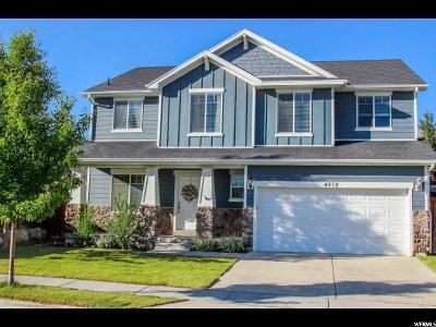 Lehi Single Family Home For Sale: 4578 N Pheasant Ridge Trl