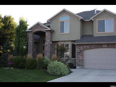 South Jordan Single Family Home For Sale: 3382 W Waterbridge Cv