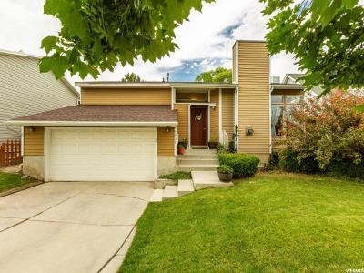 West Jordan Single Family Home For Sale: 7937 S 2940 W