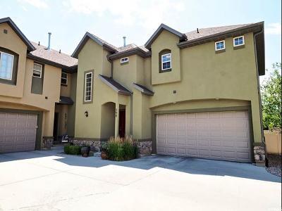 Draper Townhouse For Sale: 598 E Wyngate Pointe Ln S