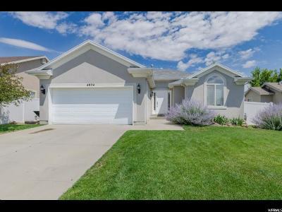 Riverton Single Family Home For Sale: 4974 W Diamondback Dr