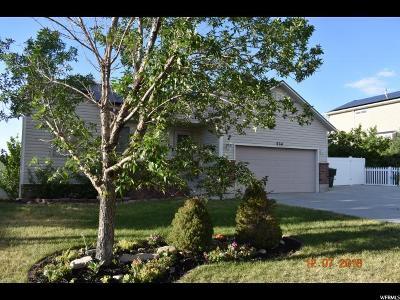 Tooele UT Single Family Home For Sale: $245,000