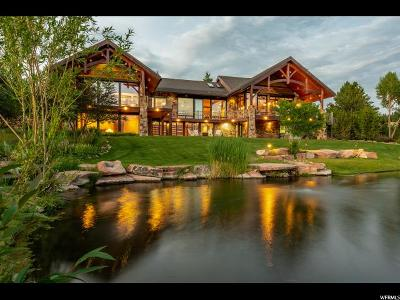 Park City Single Family Home For Sale: 5721 Old Ranch Rd