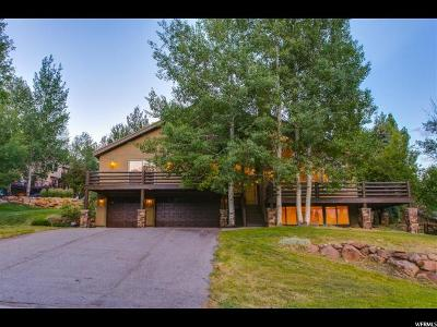 Park City Single Family Home For Sale: 9049 Cheyenne Way