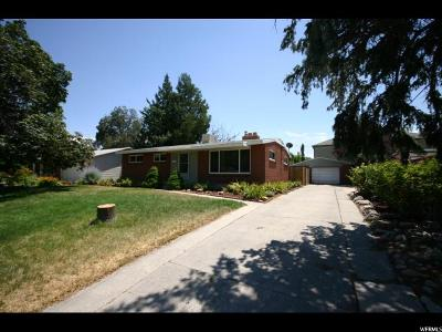 West Valley City Single Family Home For Sale: 3575 Meadowbrook Dr. Dr W #19