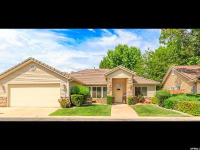 St. George Single Family Home For Sale: 351 S Valley View Dr #62