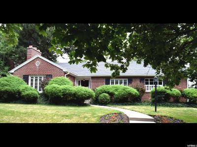 Salt Lake City Single Family Home For Sale: 1274 E 4th Ave N