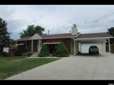 Tooele Single Family Home For Sale: 314 Coleman St N