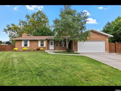 Orem Single Family Home For Sale: 725 W 210 S