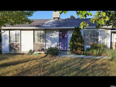 West Valley City Single Family Home For Sale: 3833 S 6250 W
