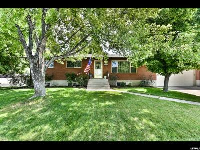 Orem Single Family Home For Sale: 1686 N 680 W