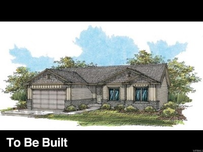 Santaquin Single Family Home For Sale: 227 W Braeburn Ln N #LOT 8