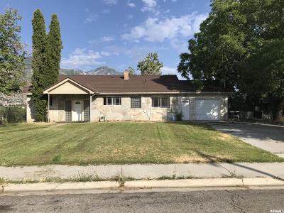Provo Single Family Home For Sale: 1610 N Jordan Ave