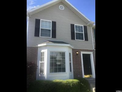 Townhouse For Sale: 448 E 350 S