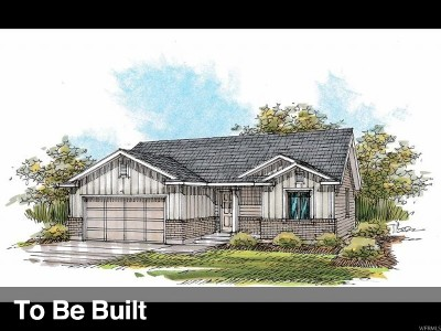 Santaquin Single Family Home For Sale: 156 W Braeburn Ln N #LOT 15