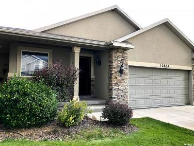 Herriman Single Family Home For Sale: 12663 S Diamondback Dr W