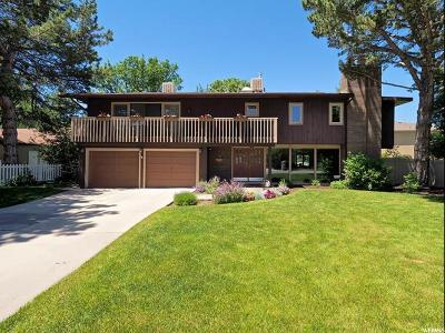 Holladay Single Family Home For Sale: 4838 S 1395 E