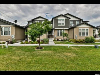 West Valley City Townhouse For Sale: 3083 S Islington Ln