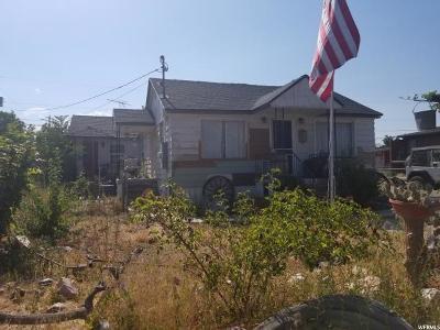 Orem Single Family Home For Sale: 1628 S Main