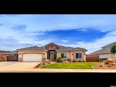 St. George Single Family Home For Sale: 3316 E 3180 S