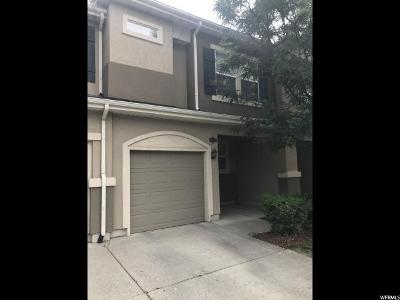 West Valley City Townhouse For Sale: 1583 W Alsace Way S #3