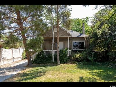 Holladay Single Family Home For Sale: 4405 S Butternut Rd