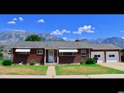 Single Family Home For Sale: 543 S 560 E