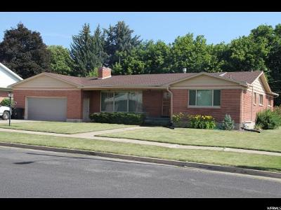 Logan Single Family Home For Sale: 258 E 900 St N