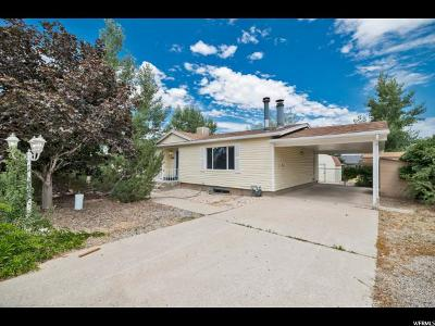 Tooele Single Family Home For Sale: 880 W 1220 S