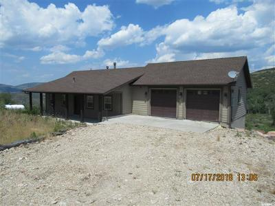 Wasatch County Single Family Home For Sale: 2374 S Westview Dr #1349