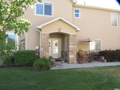 West Valley City Townhouse For Sale: 6854 W Bamburgh Way W