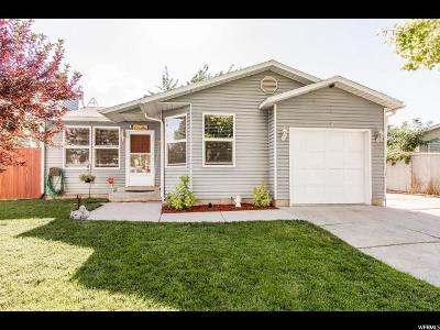 West Jordan Single Family Home For Sale: 8030 S 2940 West W