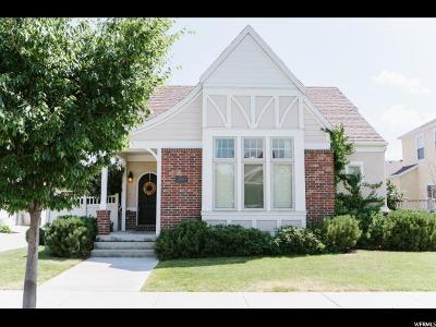 South Jordan Single Family Home For Sale: 4529 W Iron Mountain Dr