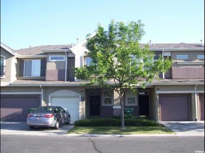 West Valley City Townhouse For Sale: 1541 W Alsace