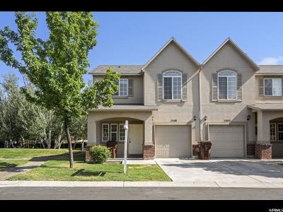 West Valley City Townhouse For Sale: 1546 W Big Oak Dr S