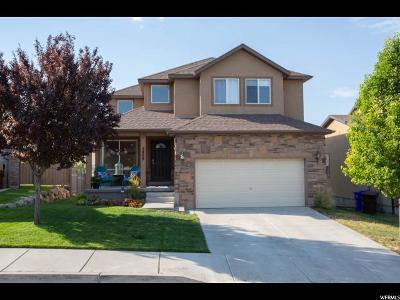 Eagle Mountain Single Family Home For Sale: 2809 E Hideout Cir S