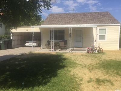 Tooele Single Family Home For Sale: 162 S Broadway St S #84