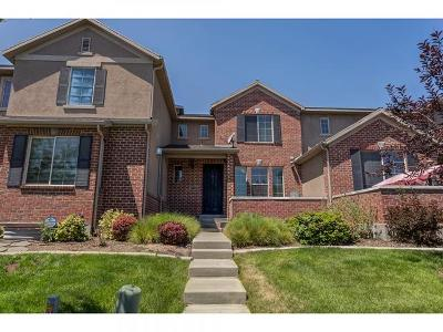 West Valley City Townhouse For Sale: 3013 S Tower Hill Way W