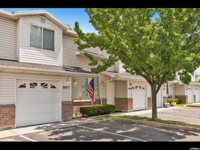 West Valley City Townhouse For Sale: 3077 S Springside Ct W