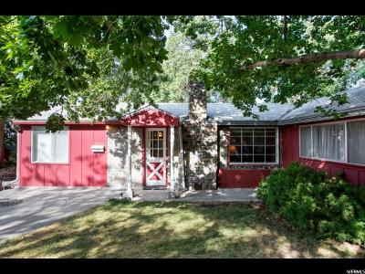 Holladay Single Family Home For Sale: 5800 S Wasatch Blvd